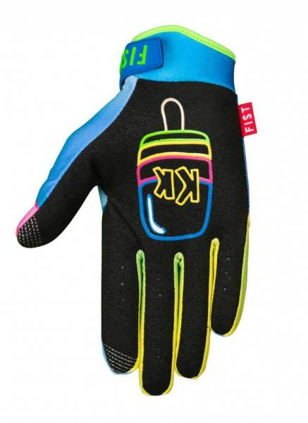 FIST GLOVES KRUZ MADDISON ICY POLE YOUTH XS Colorful Print