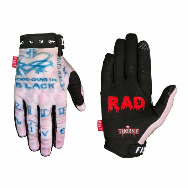 FIST GLOVES RICK THORNE STAY RAD NEW!