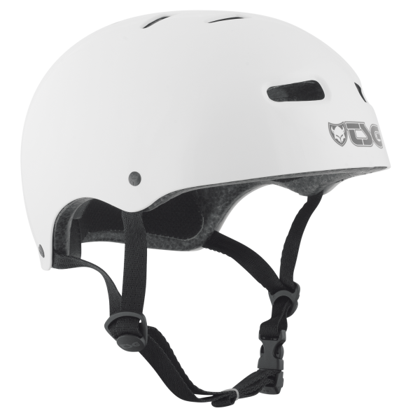 TSG HELMET BMX/SKATE INJECTED COLOR White