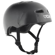 TSG HELMET BMX/SKATE INJECTED COLOR Black