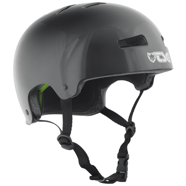 TSG HELMET EVOLUTION INJECTED COLOR Black