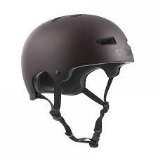 TSG HELMET EVOLUTION SOLID COLOR Satin Black Chocolate
