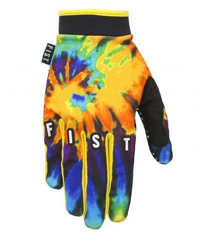 FIST GLOVES TIE DYE Yellow