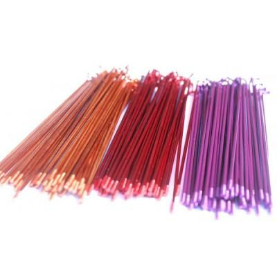 SPOKES 186MM ILLEGAL STAINLESS 40PC TRANS COLORS
