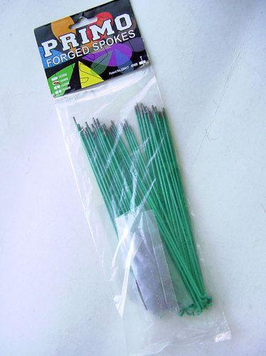 SPOKES 184MM PRIMO 50PC GREEN/TEAL
