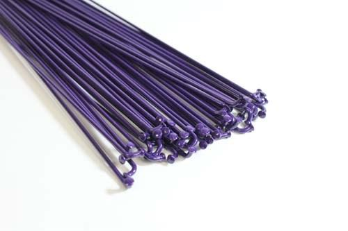 PROPER SPOKES DOUBLE BUTTED 188MM 40PC Purple