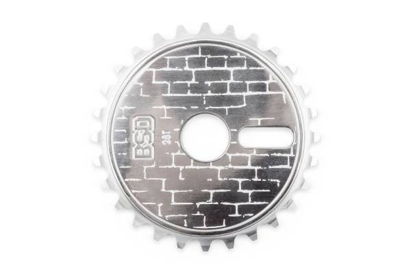 BSD SPROCKET 28T WALLY DISC Silver