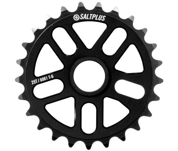 SALT PLUS SPROCKET 25T ECHO Black