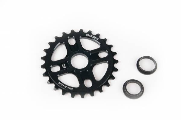 SALT PLUS SPROCKET 25T MANTRA Black