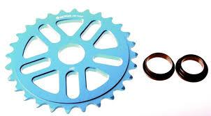 SALT PLUS SPROCKET 25T ECHO Cyan