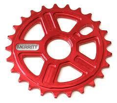 MERRITT SPROCKET MIGHTY 25T Red