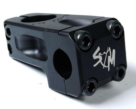S&M STEM FRONT LOAD 52mm REDNECK XLT Black