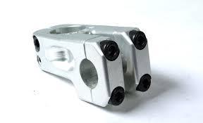 S&M STEM FRONT LOAD 49mm LIL REDNECK Silver