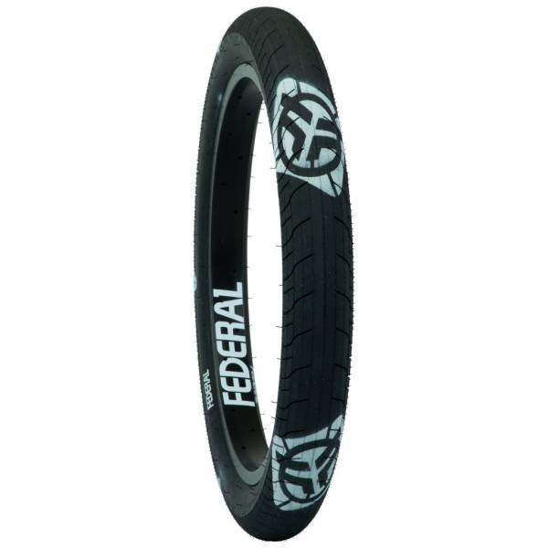 """FEDERAL TIRE 20 x 2.40"""" COMMAND LP Black with White Logos"""