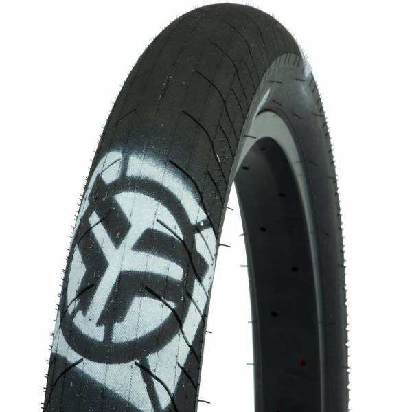 "FEDERAL TIRE 20 x 2.40"" COMMAND LP Black with White Logos"