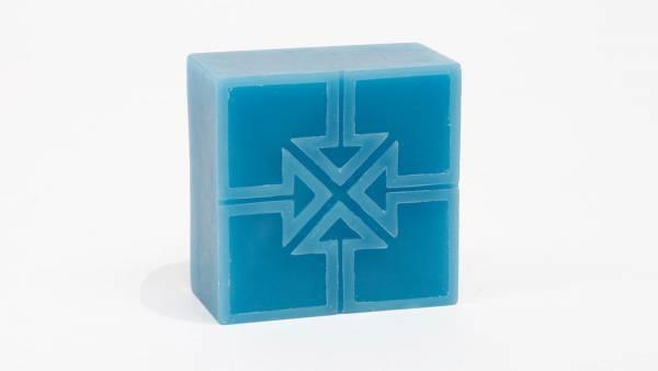 """FIT WAX 3"""" x 3"""" x 1.5"""" KEY WAX Blue"""